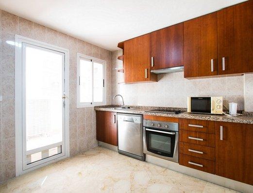Cocina independiente Apartamentos Magic Atrium Plaza