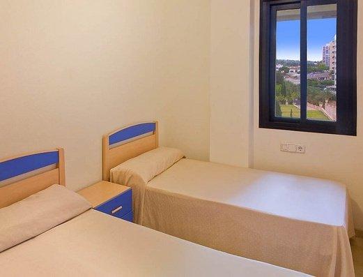 Habitación con 2 camas Apartamentos Magic Atrium Plaza